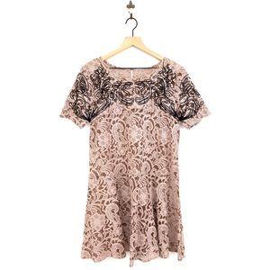 Free People Beautiful Dreamer Lace Dress Large